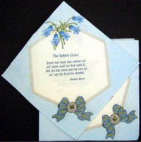 Scottish Bluebells Paper Napkins