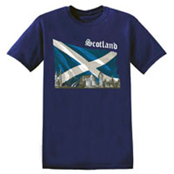 Scotland Flag T Shirt