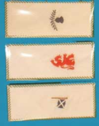 Set of 3 Embroided Handkerchiefs (gents)
