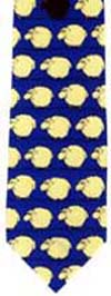 Sheep polyester tie