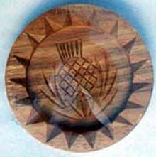 Shortbread Mould (made from beechwood)