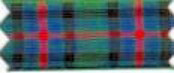 """Polyester Tartan Ribbon in a 72mm (approx 2.9"""")"""