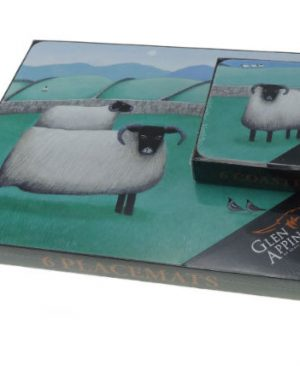 6 Sheep Placemats