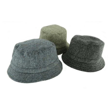 Harris Tweed Fishing Hat in Assorted Tweeds – SML2