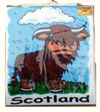 children t shirt highland cow