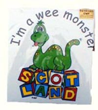 Children T-Shirt I'm a Wee Monster