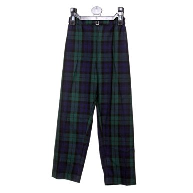 Boys Tartan Trousers Black Watch