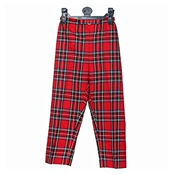 Boys Tartan Trousers Royal Stewart