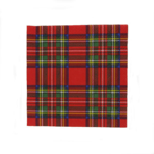 Royal Stewart Cocktail Napkins