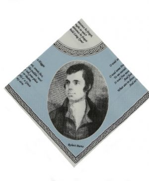 Robert Burns Napkins
