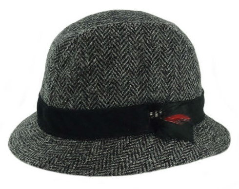 Harris Tweed Trilby