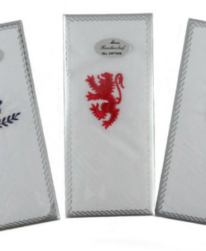 Gents Embroidered Handkerchief ( 3 )