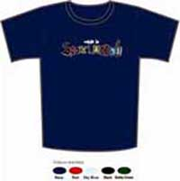 Made In Scotland T Shirt - Blue, Small