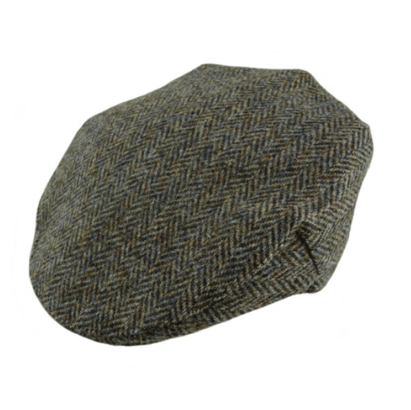 Gents Harris Tweed One Size Cap – Assorted Tweeds