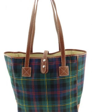 Harrish Tweed Tartan Shopper bag
